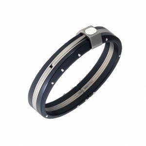 men designer aluminum bangle bracelet