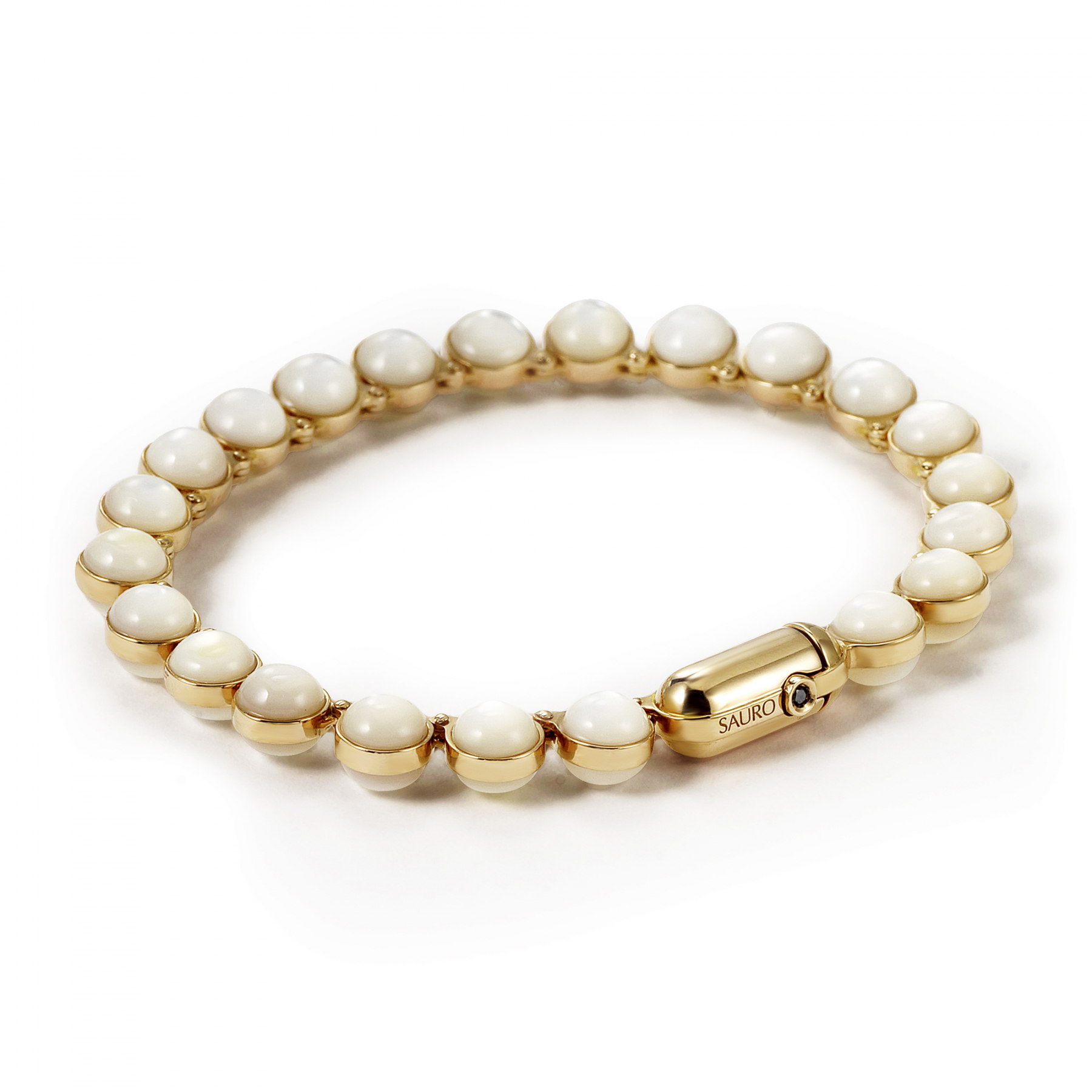 Minisphera White Mother Of Pearl Bracelet 358
