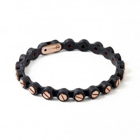 Big Leather Bracelet 366