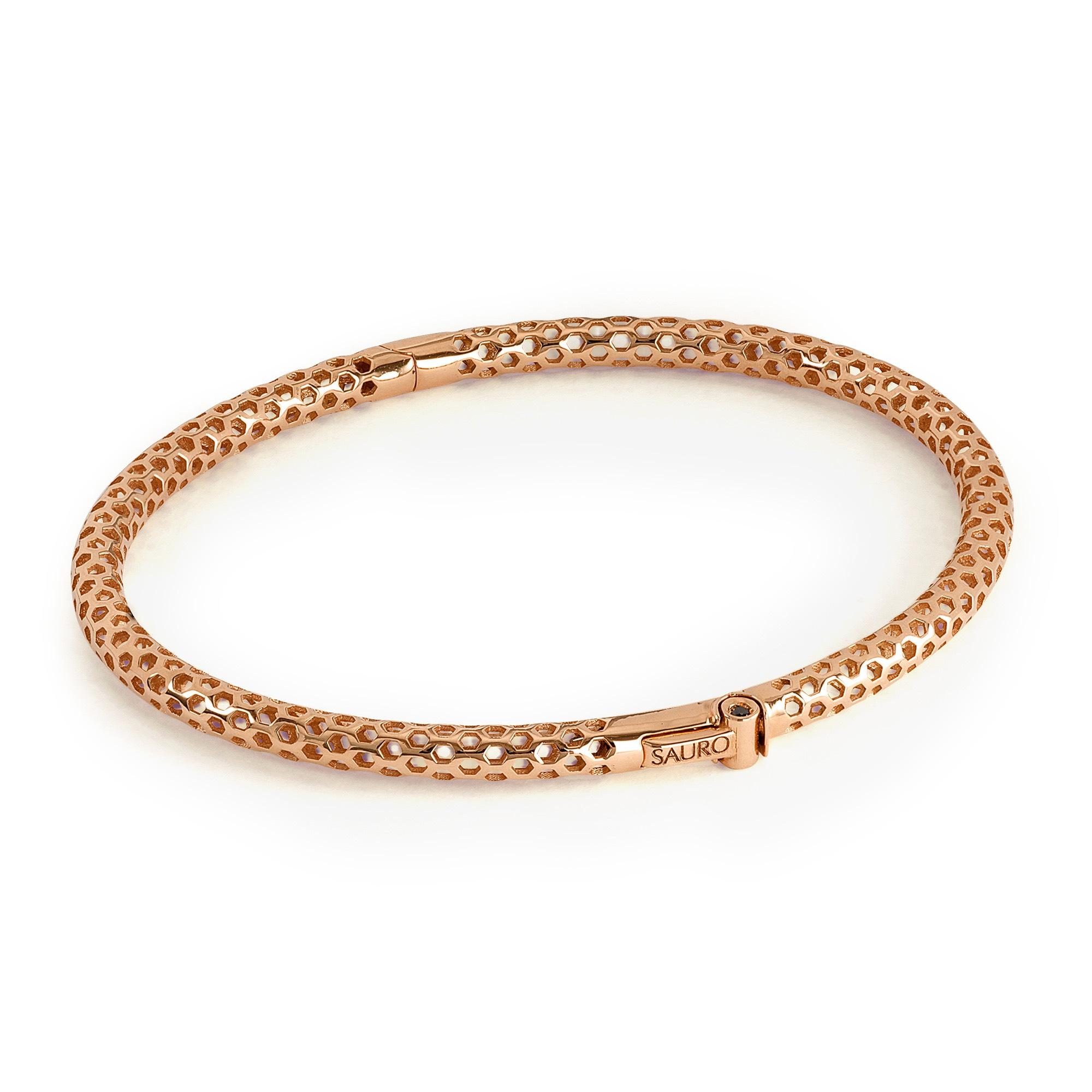 5655d21e3dc63 Luxurious Men's Gold Diamond Bangle Bracelet   Yellow, Rose, White ...