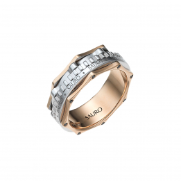 Rotante Ingranaggio Diamond Ring