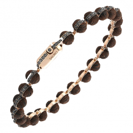 Minisphera Diamonds Wood Bracelet 358