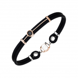 Thin Rubber Diamonds Bracelet 300