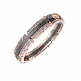 Arpione Titanium Diamond Bangle 303