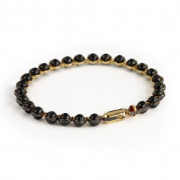 Minisphera Diamonds Carbon Fiber Bracelet 358