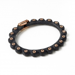 Big Leather Diamond Bracelet 367